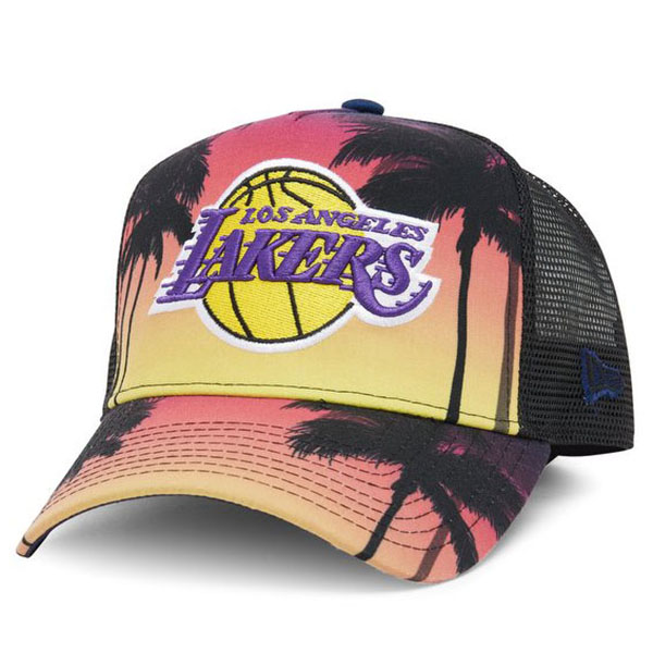 NEW ERA LFS KACKET LOS ANGELES LAKERS PNKYEL